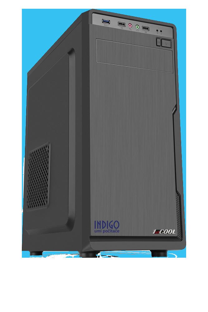 PC INDIGO by AMD & ASUS - AMD Ryzen 5 3600/1TB+256GB SSD/16G/GTX1660/DVD/W10 - NÁVRAT DO ŠKOLY