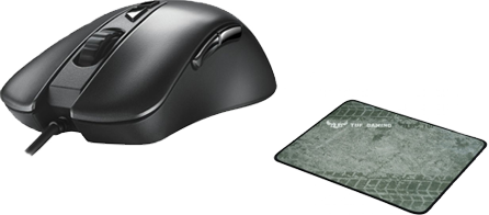 ASUS myš TUF GAMING M3 + ASUS TUF GAMING P3 - gaming pad